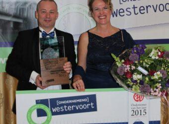 Winnaar Ondernemend Westervoort 2015